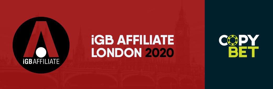 """Sie finden uns auf der """"iGB Affiliate London 2020"""""""