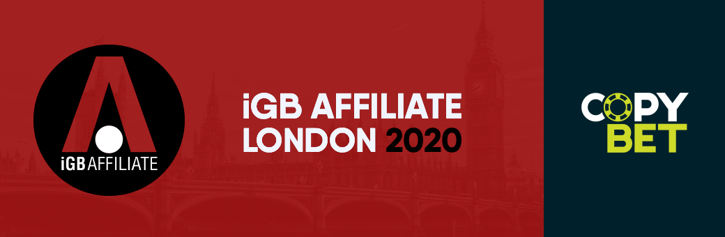 "Encuéntrenos en ""iGB Affiliate London 2020"""