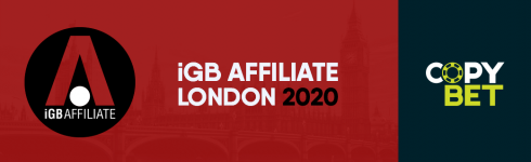 "Find us at ""iGB Affiliate London 2020"""