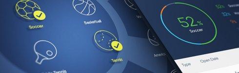 Copybet tilføjer et nyt filter til kopiering - efter sportstyper
