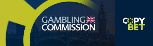 CopyBet tar emot licensen Gambling Commission UK