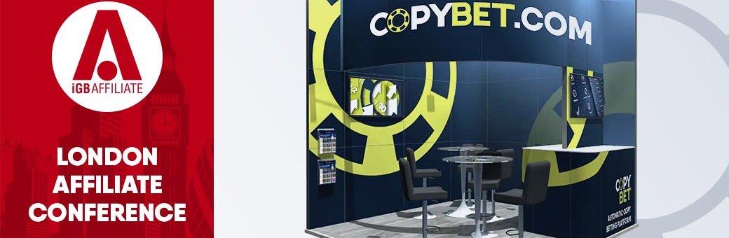Команда CopyBet приняла участие в London Affiliate Conference 2018