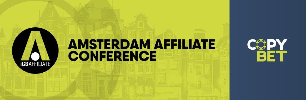 La conferenza per gli affiliati di Amsterdam 2017