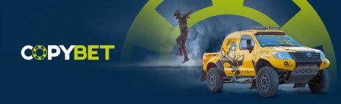 """CopyBet è lo sponsor platinum della squadra di rally cipriota """"Autolife"""""""